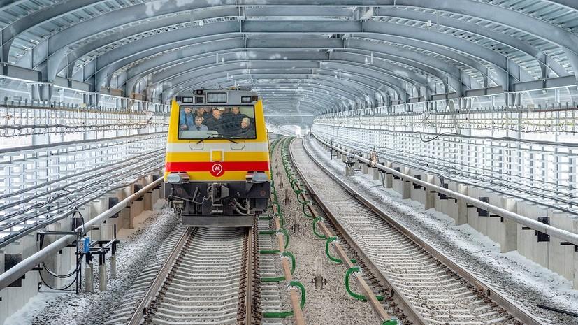 В Москве приступили к тестированию нового участка на Сокольнической линии метро