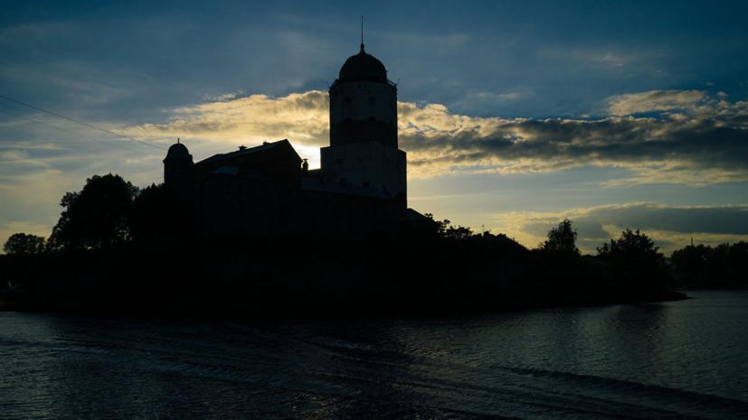 Башня Святого Олафа открылась в Выборгском замке после реконструкции