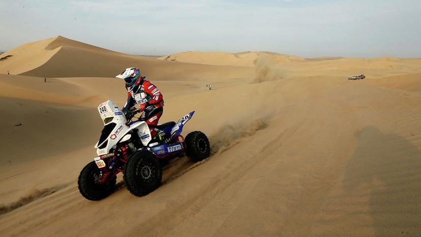 Попавший в аварию на «Дакаре» Карякин вернулся в гонку