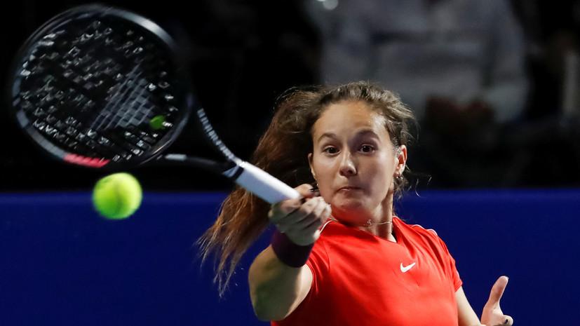 Касаткина проиграла Бачински в матче первого круга Australian Open