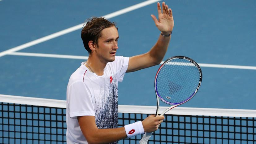 Медведев обыграл Харриса в матче первого круга Australian Open