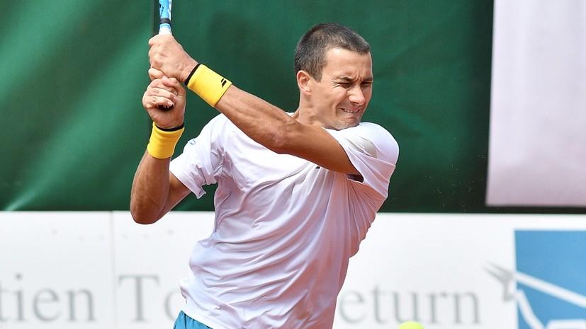 Донской одержал победу над Дьёре в матче первого круга Australian Open