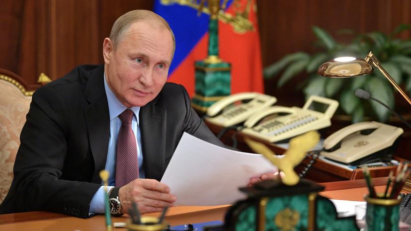 Песков объяснил отсутствие у Путина смартфона