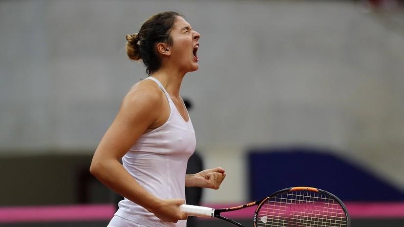 Гаспарян вышла во второй круг Australian Open, Блинкова покинула турнир