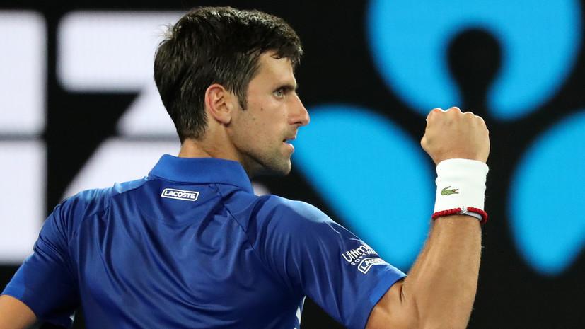 Джокович победил Крюгера и вышел во второй круг Australian Open
