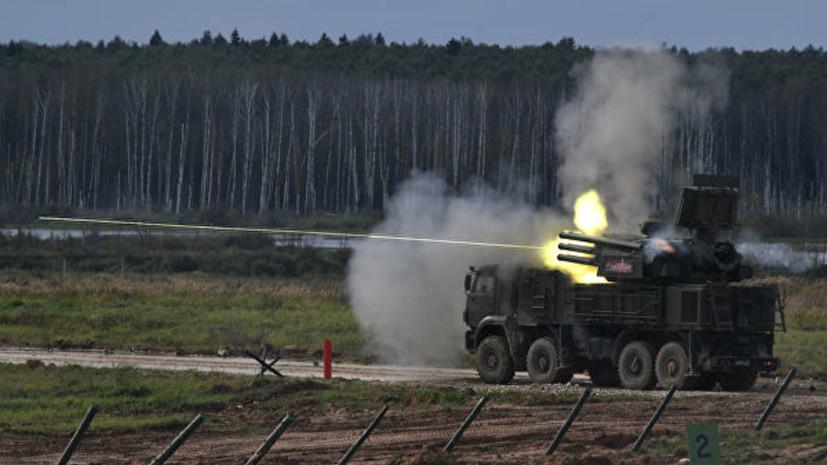 В Крыму прошли учения с участием расчётов ЗРПК «Панцирь-С»
