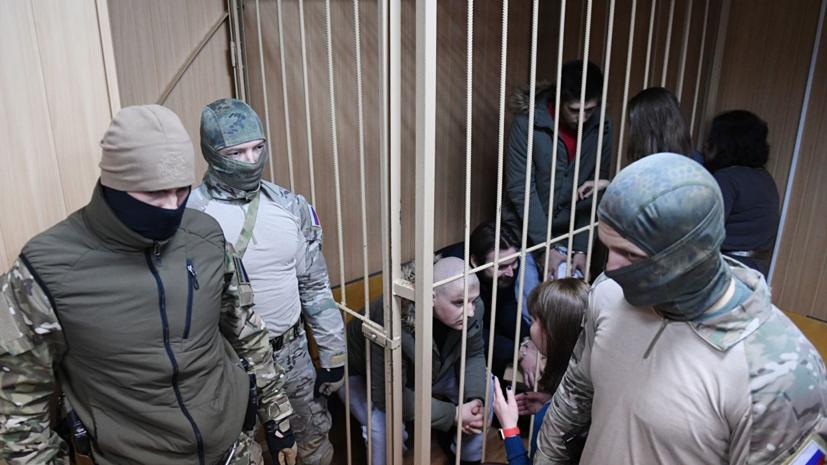 В Госдуме прокомментировали отказ украинских моряков от дачи показаний в суде