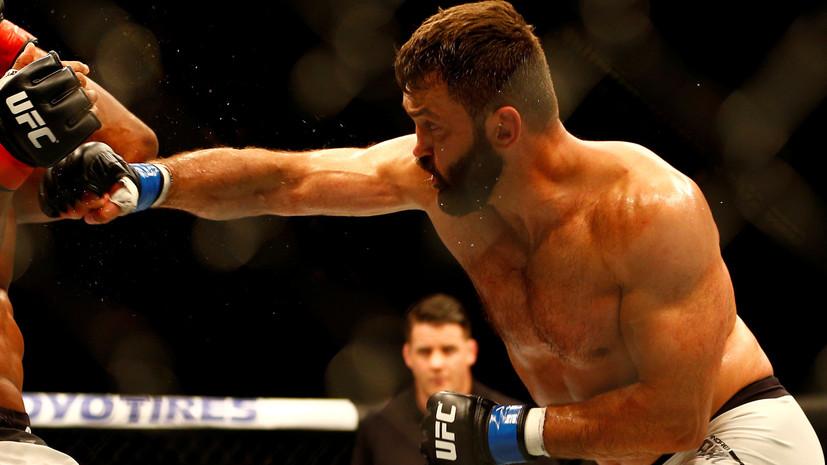 Белорусский боец UFC намерен выходить на все свои поединки в России под гимн СССР