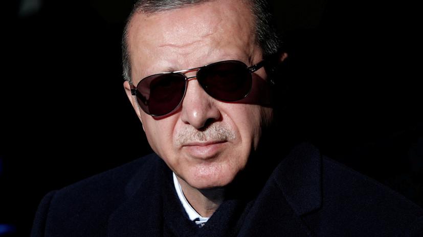 В Анкаре анонсировали визит Эрдогана в Москву