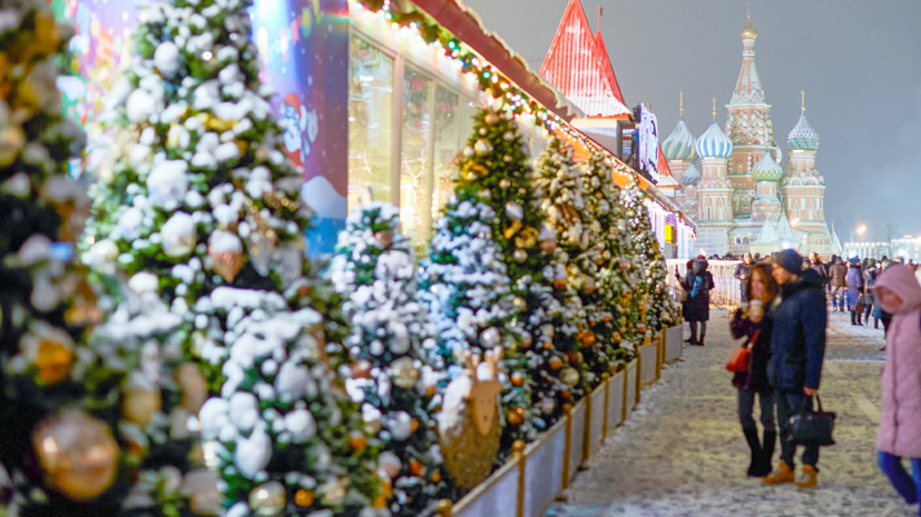 Фестиваль «Путешествие в Рождество» в Москве посетили 18,6 млн человек