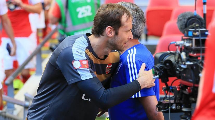 Моуринью: уход Чеха это большая потеря для футбола, но историю нельзя стереть