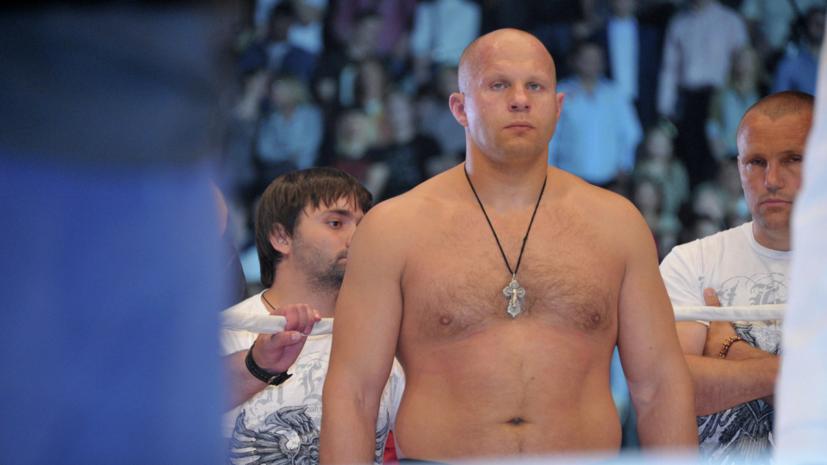 Фёдор Емельяненко высказался о своём сопернике по финалу Гран-при Bellator Бейдере
