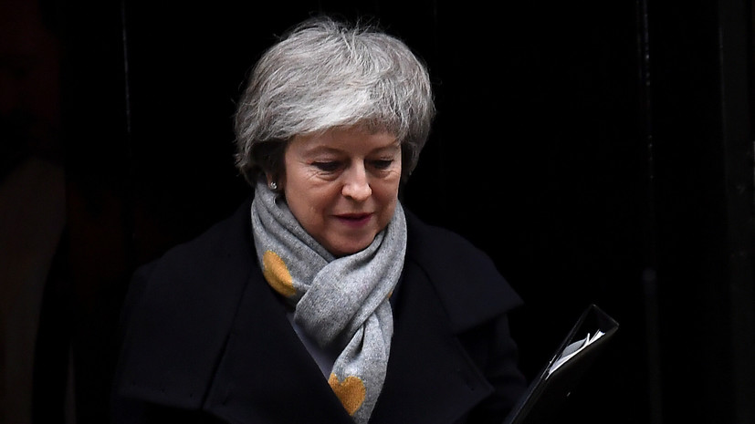Мэй призвала британских парламентариев не допустить брексита без сделки