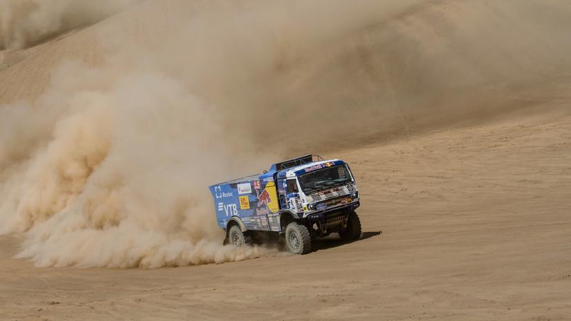 Экипаж Сотникова победил на восьмом этапе «Дакара»