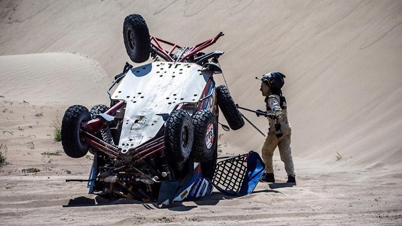 Лидерство Сотникова, судейский скандал и авария Карякина: в Перу завершился восьмой этап ралли «Дакар»