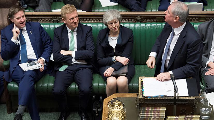«Ситуация абсолютно непредсказуемая»: в Великобритании парламент рассмотрит вопрос о вотуме недоверия Терезе Мэй