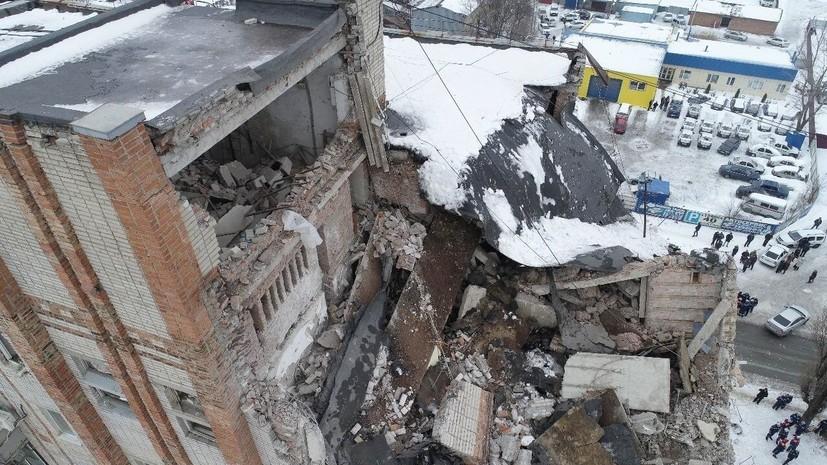Все погибшие при взрыве газа в доме в Шахтах опознаны