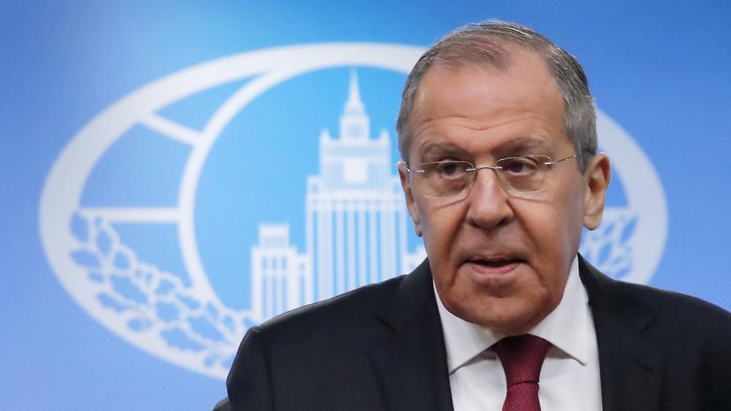 Лавров назвал ДРСМД жертвой политики США