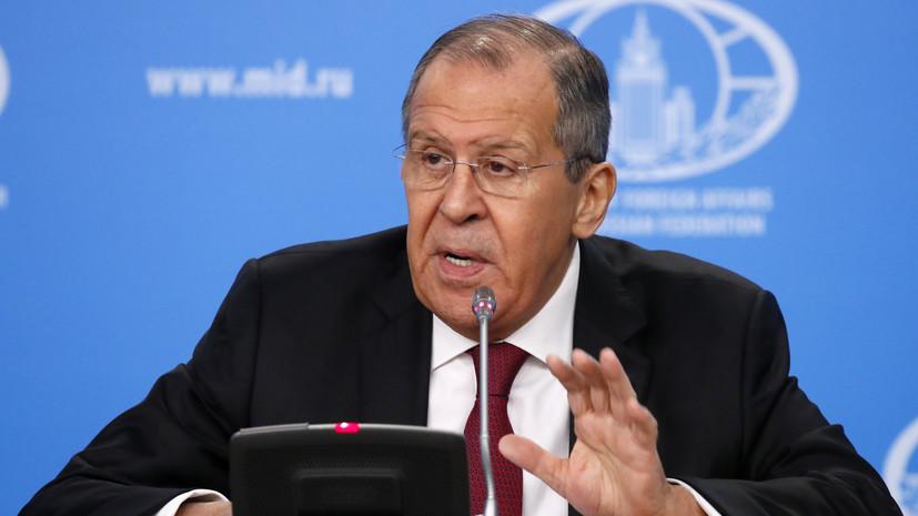 Лавров заявил, что удивился раздутой вокруг Союзного государства шумихе