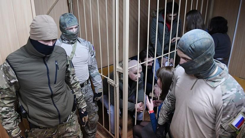 МИД Украины выразил протест из-за продления ареста задержанных моряков
