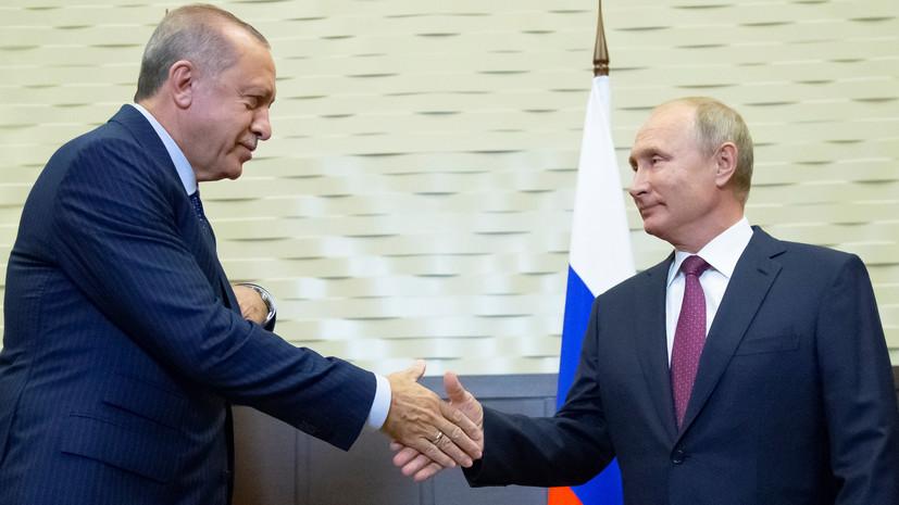 Лавров: Путин и Эрдоган обсудят предложение Турции по буферной зоне в Сирии