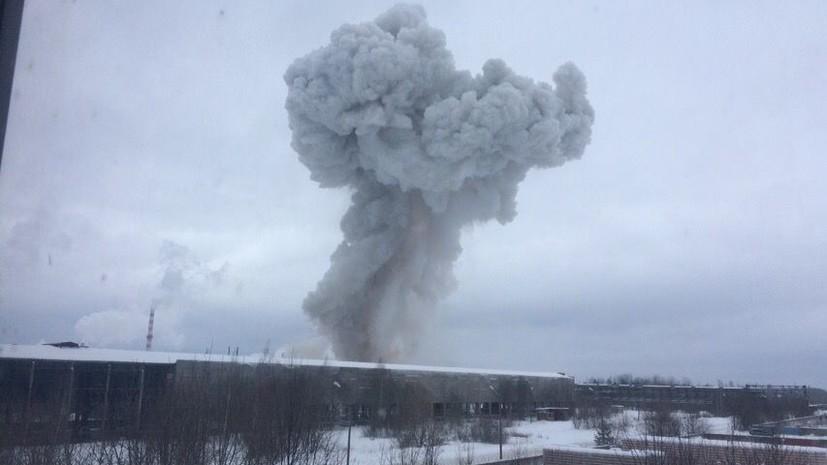 Под Петербургомпри взрыве обрушилось производственное здание