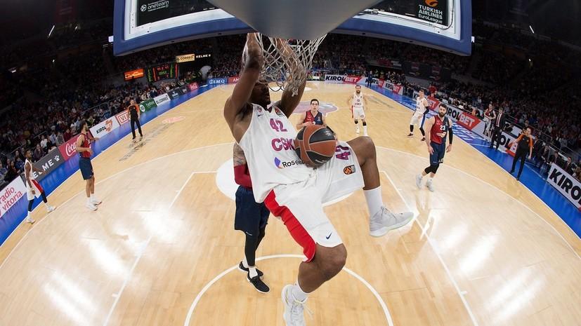Капитан ЦСКА Хайнс оценил предстоящую игру против «Баварии» в баскетбольной Евролиге