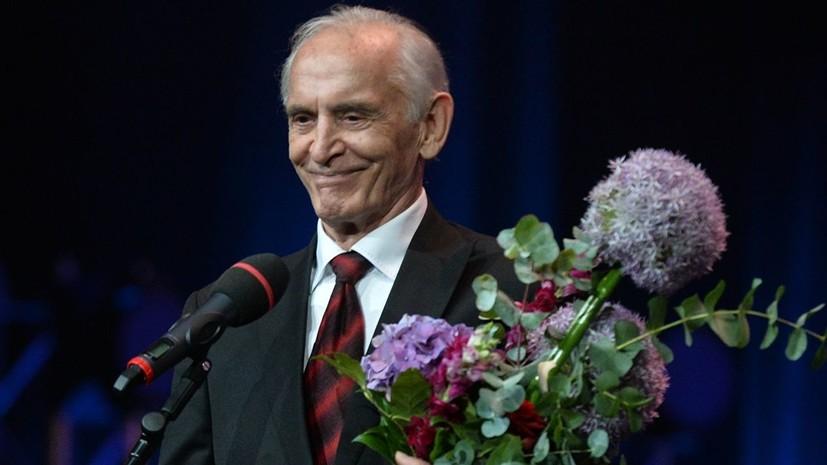 Андрей Мягков поздравил Василия Ланового с юбилеем