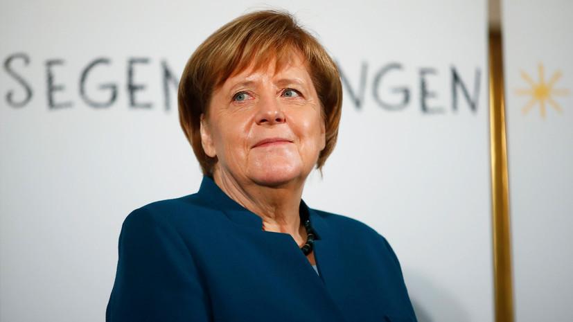 Меркель выразила сожаление из-за ситуации с соглашением по брекситу