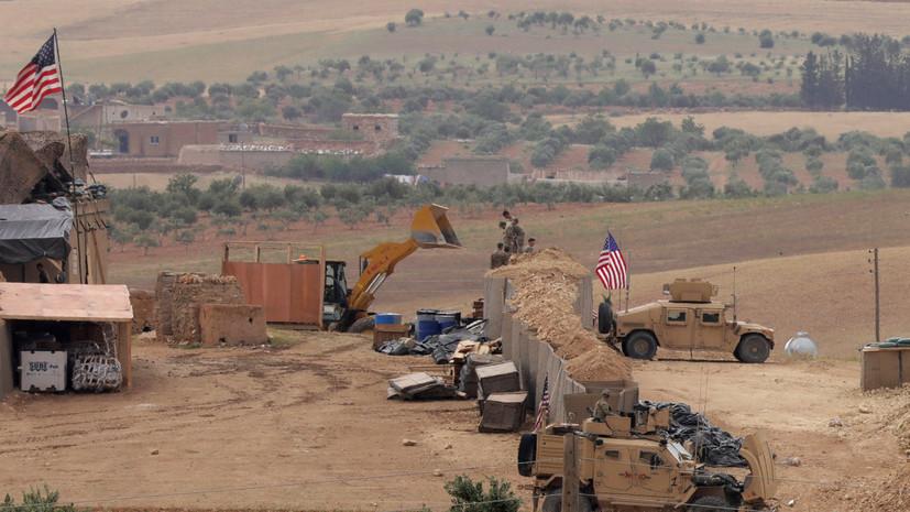 СМИ: При теракте в сирийском Манбидже погибли два военных США