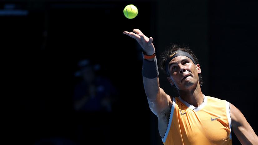Надаль вышел на третье место по победам на Australian Open