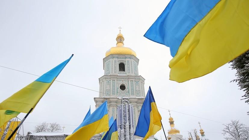Сторонники ПЦУ захватили храм УПЦ МП во Львовской области