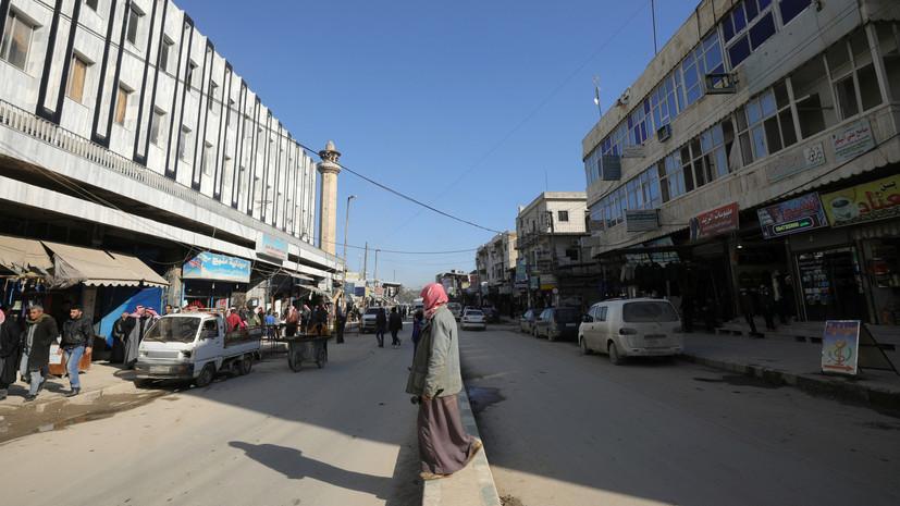Источник: число жертв теракта в сирийском Манбидже достигло 16