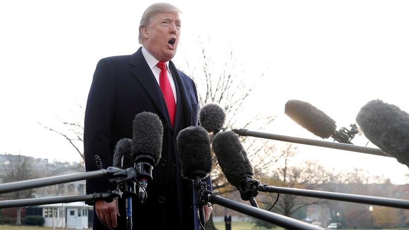 «Доказательства им не нужны»: как Трамп стал главным объектом критики в американских СМИ