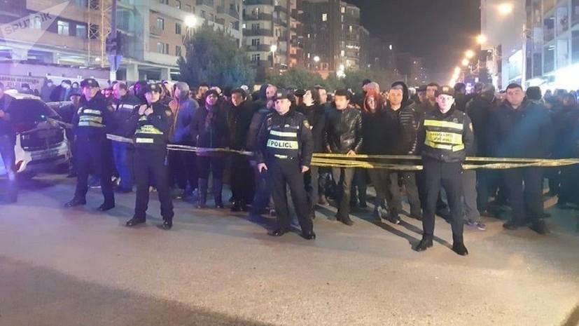 Четыре человека погибли при взрыве газа в Тбилиси