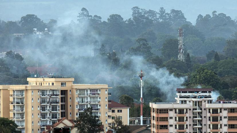 Число жертв теракта в отеле Найроби возросло до 21