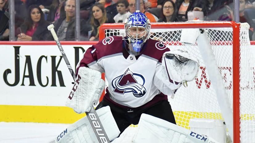Шайба Задорова и 26 сейвов Варламова не спасли «Колорадо» от поражения в матче НХЛ с «Оттавой»