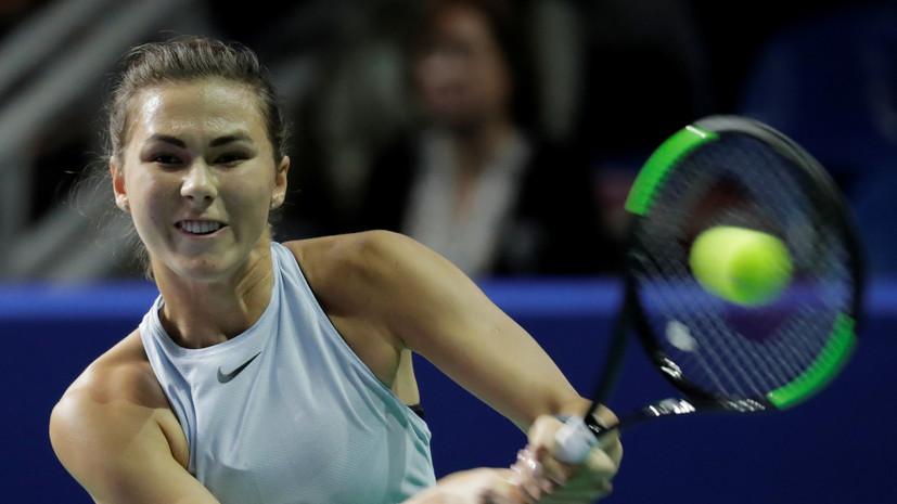 Вихлянцева проиграла Бачински во втором круге Australian Open