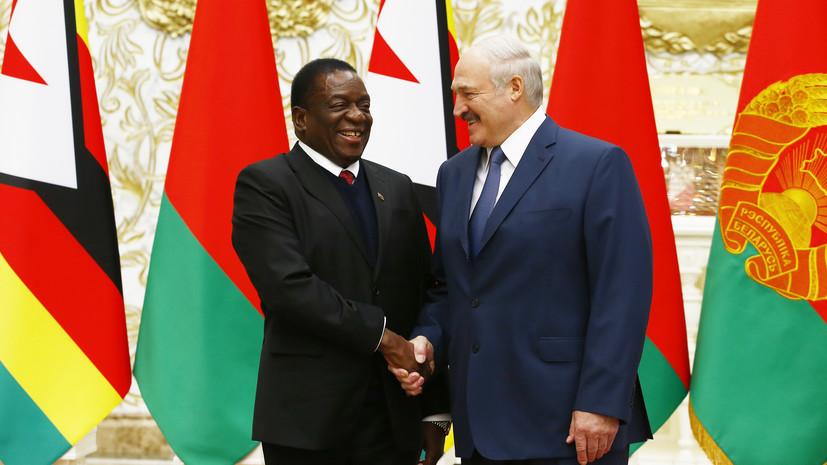 Лукашенко сообщил о большом фронте работы для Белоруссии в Зимбабве