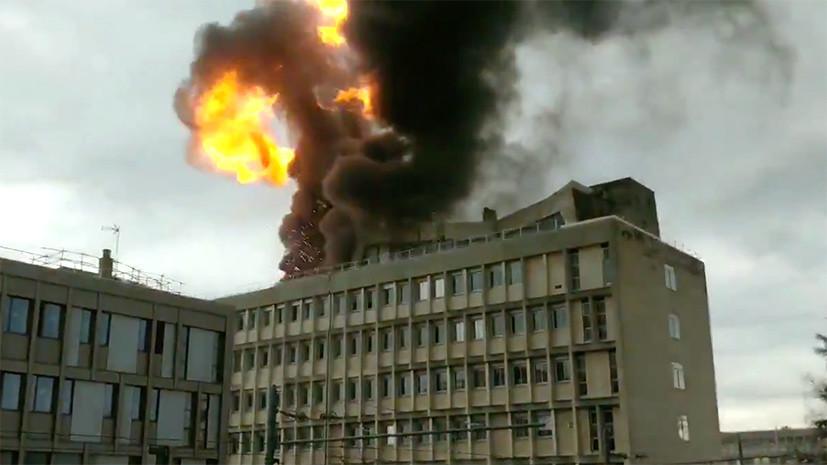 В здании библиотеки во французском Лионе произошёл взрыв