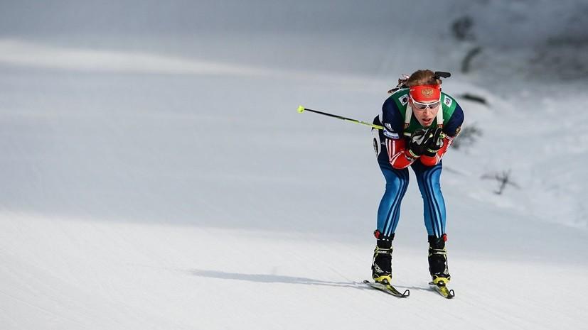 Поварницын завоевал золото в индивидуальной гонке на этапе Кубка IBU в Арбере