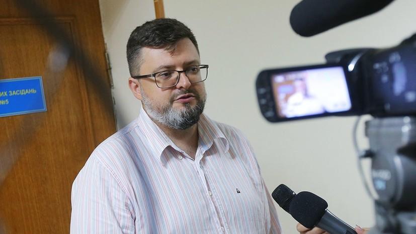 Адвокат Вышинского сообщил о завершении у него обыска