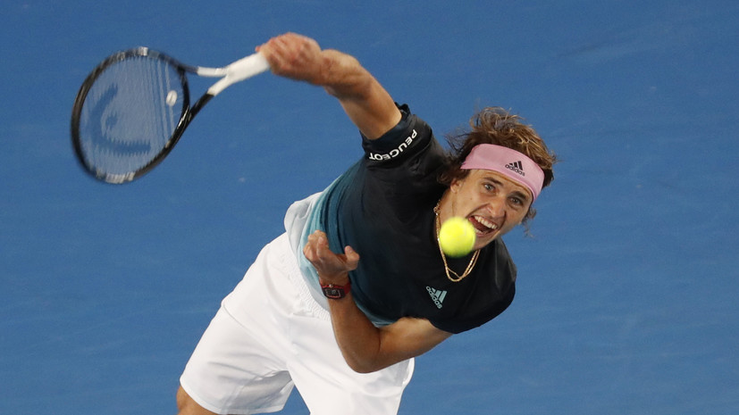 Зверев вышел в третий круг Australian Open