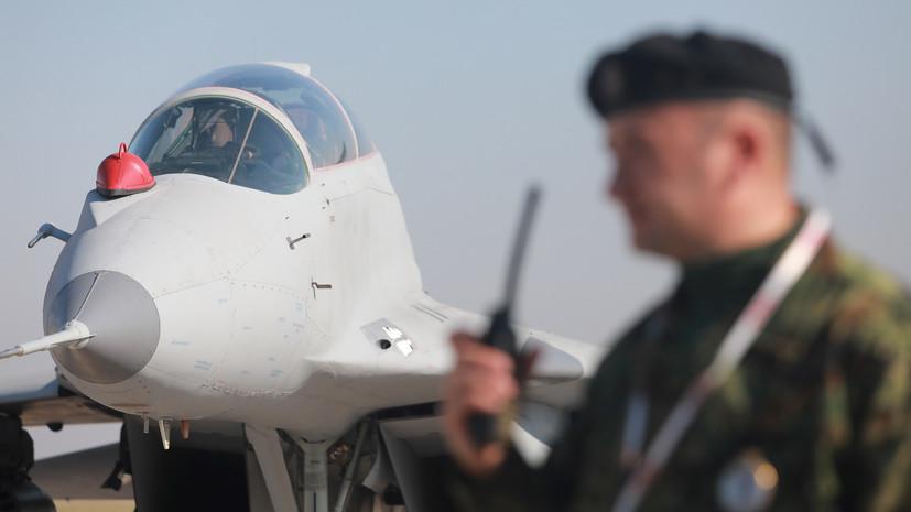 Самолёт Путина над Сербией сопровождали поставленные Россией МиГ-29