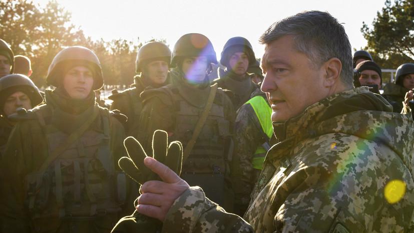 Порошенко назвал число погибших в Донбассе бойцов Сил специальных операций