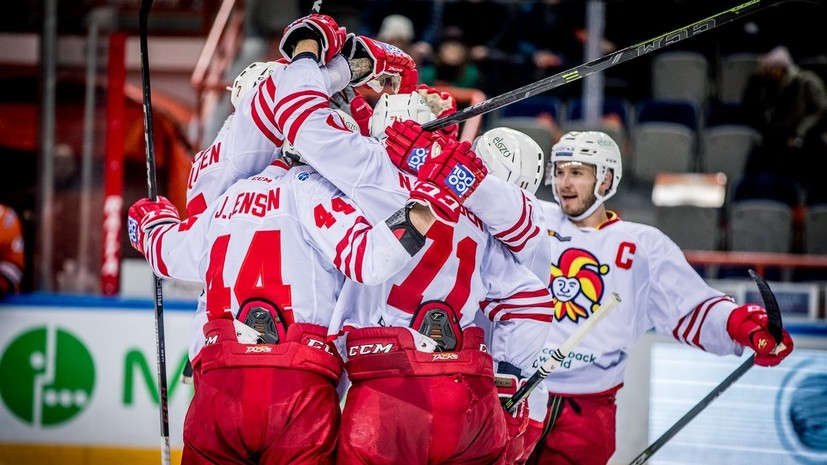 «Йокерит» обыграл «Амур» в матче КХЛ