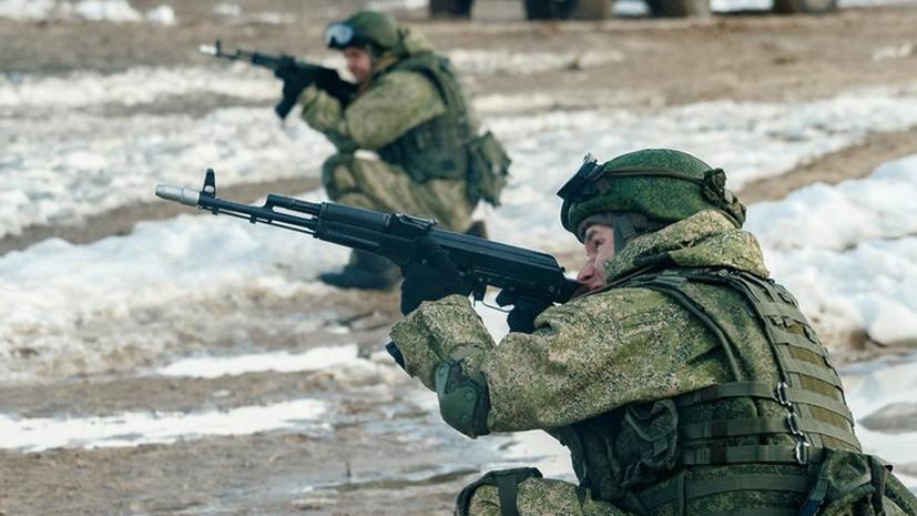 В мотострелковом соединении ВВО прошла комплексная проверка боеготовности