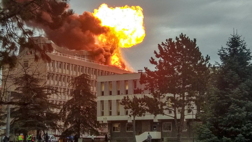 Пожар и детонация газовых баллонов: что известно о взрывах в университете Лиона