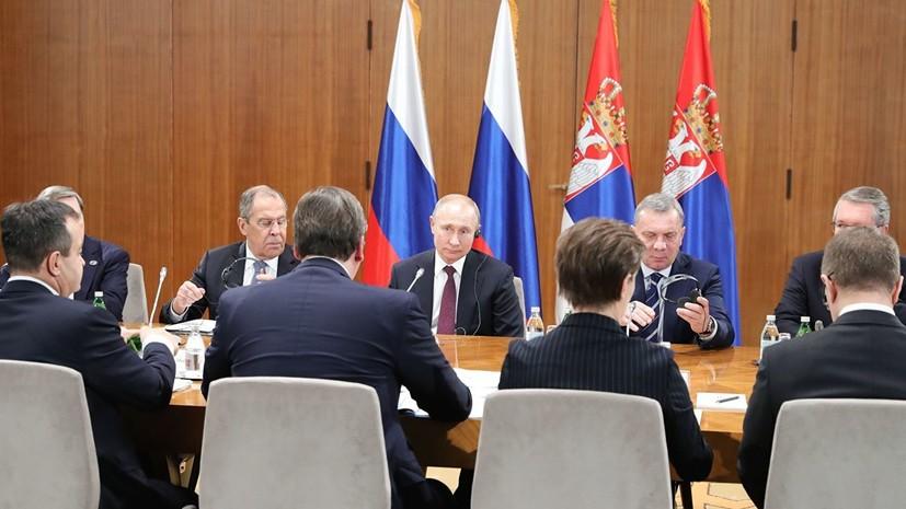 Путин заявил о готовности продлить «Турецкий поток» в страны Европы