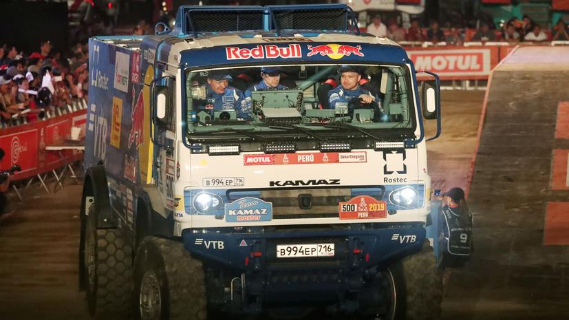 Николаев выиграл «Дакар-2019» в зачёте грузовиков, Сотников — второй